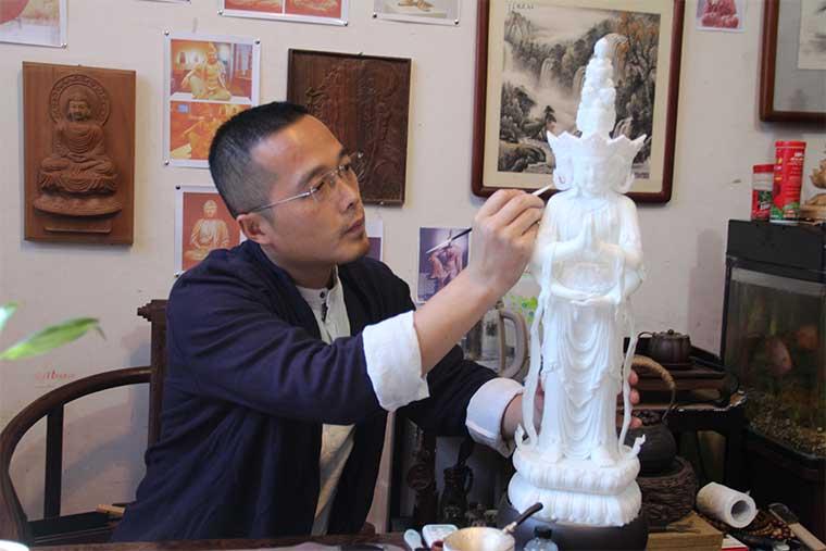 雕塑艺术家王礼辉:要坚信传统民族艺术的的力量