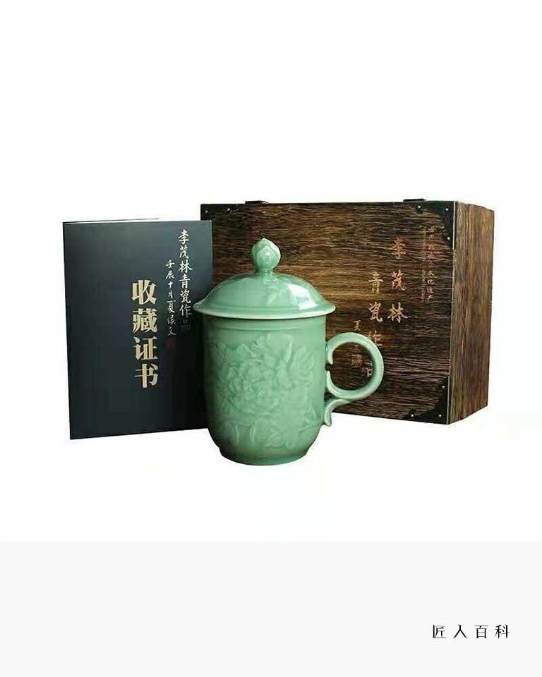 李茂林的作品-李茂林青瓷