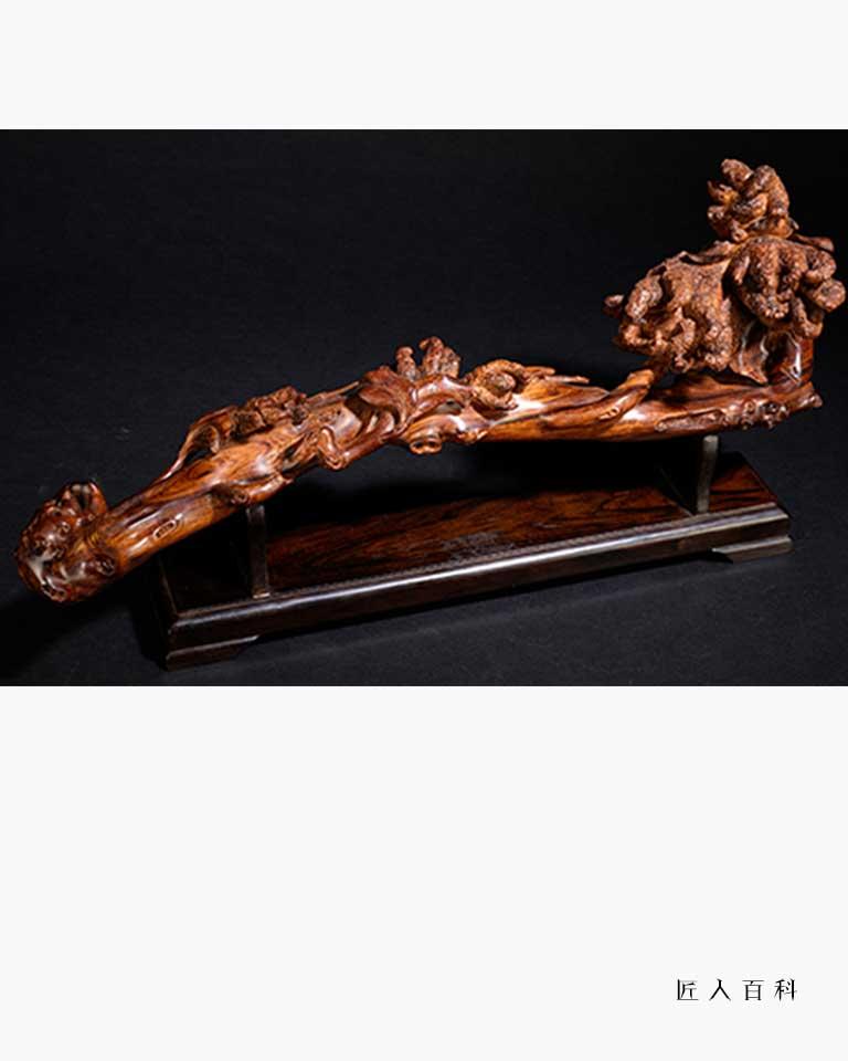 洪建华的作品-洪建华木雕师
