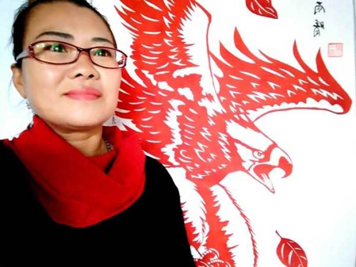 王玉琴(剪纸)