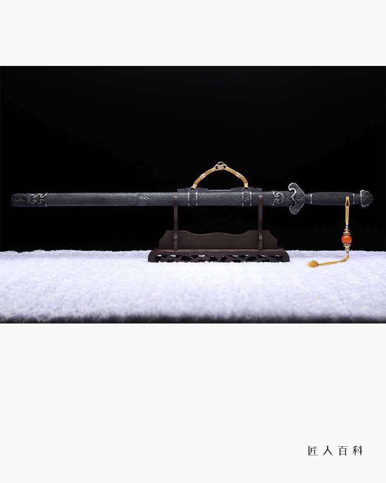 周强的作品-周强龙泉剑