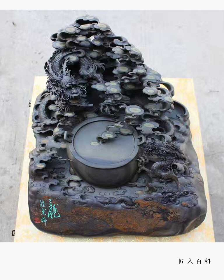 钟创荣的作品-钟创荣砚雕