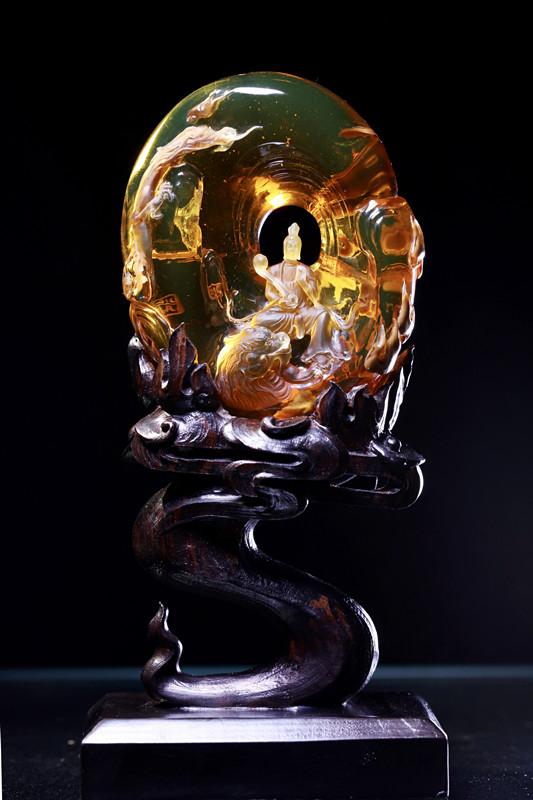 詹广川的作品-詹广川琥珀