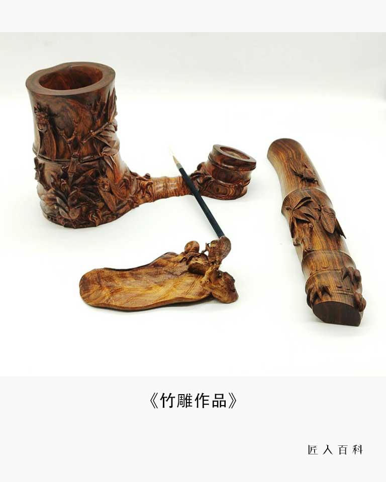 刘华的作品-刘华木雕