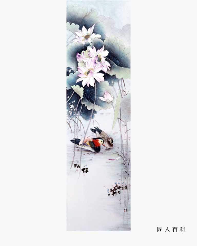 尚瑜的作品-尚瑜瓷画