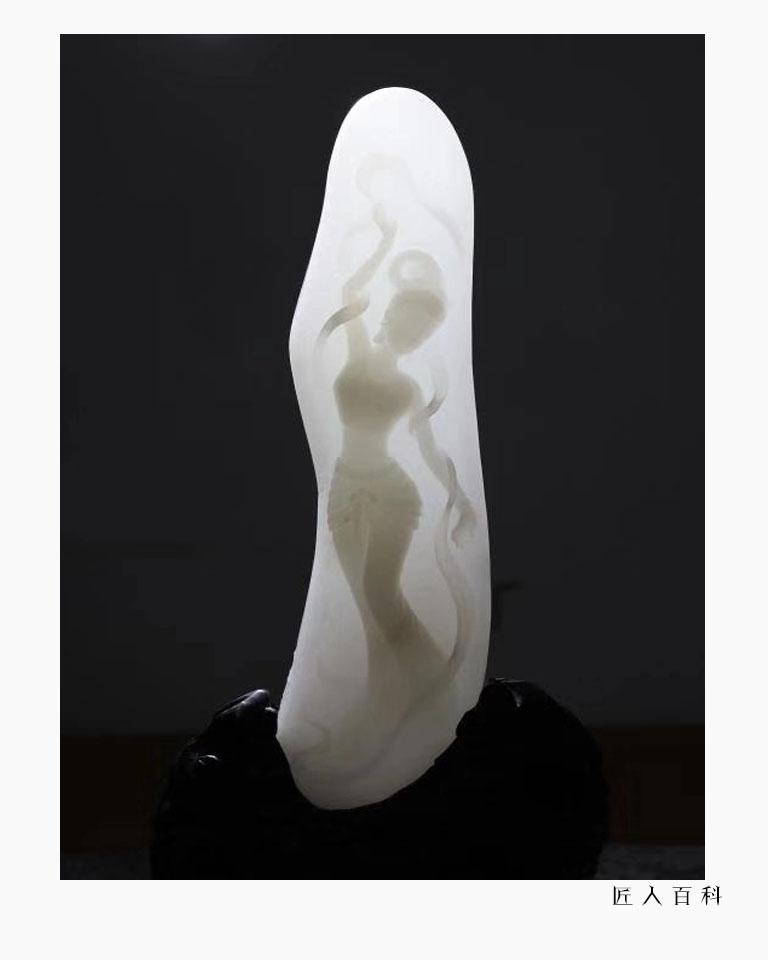 李旻罡(玉雕)的作品-李旻罡2
