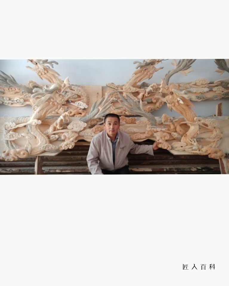 朱永平的作品-朱永平木雕