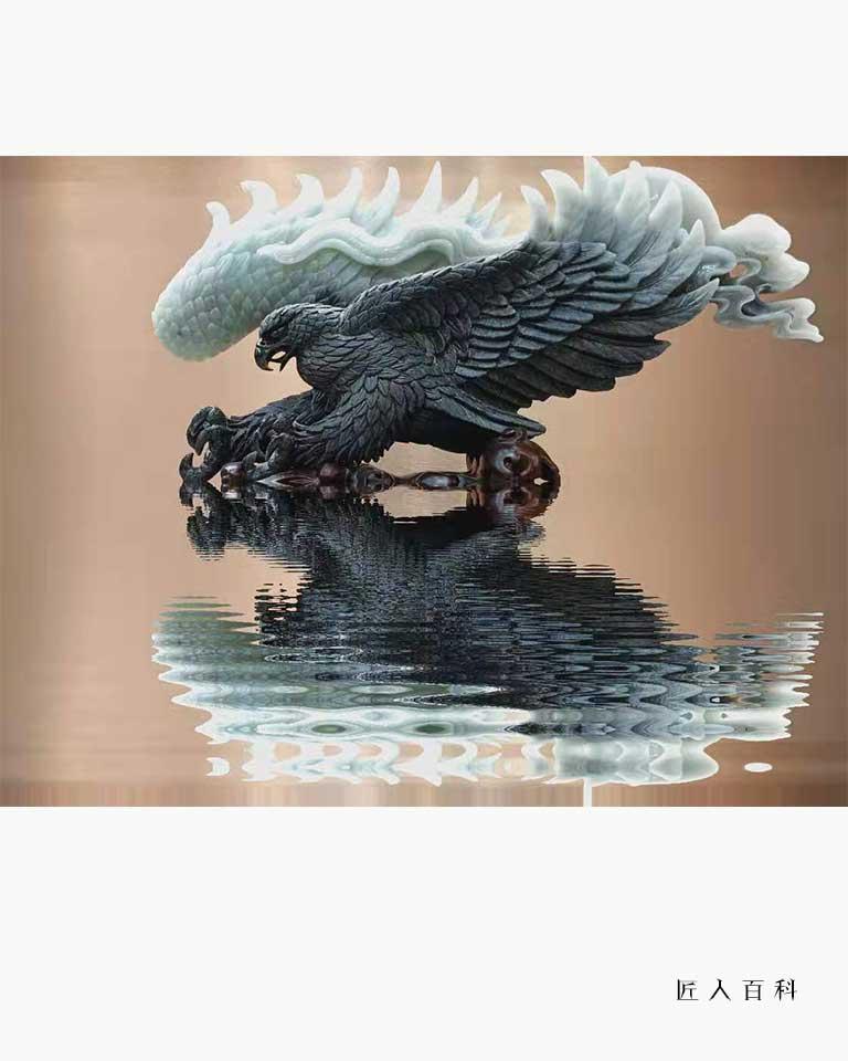 刘国英的作品-刘国英玉雕