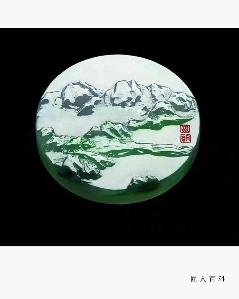 尤昌明的作品-尤昌明玉雕
