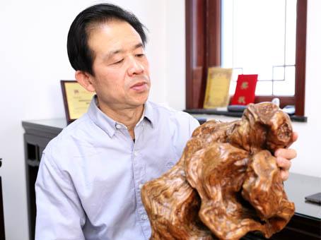 夏源泽(中国根艺美术大师)